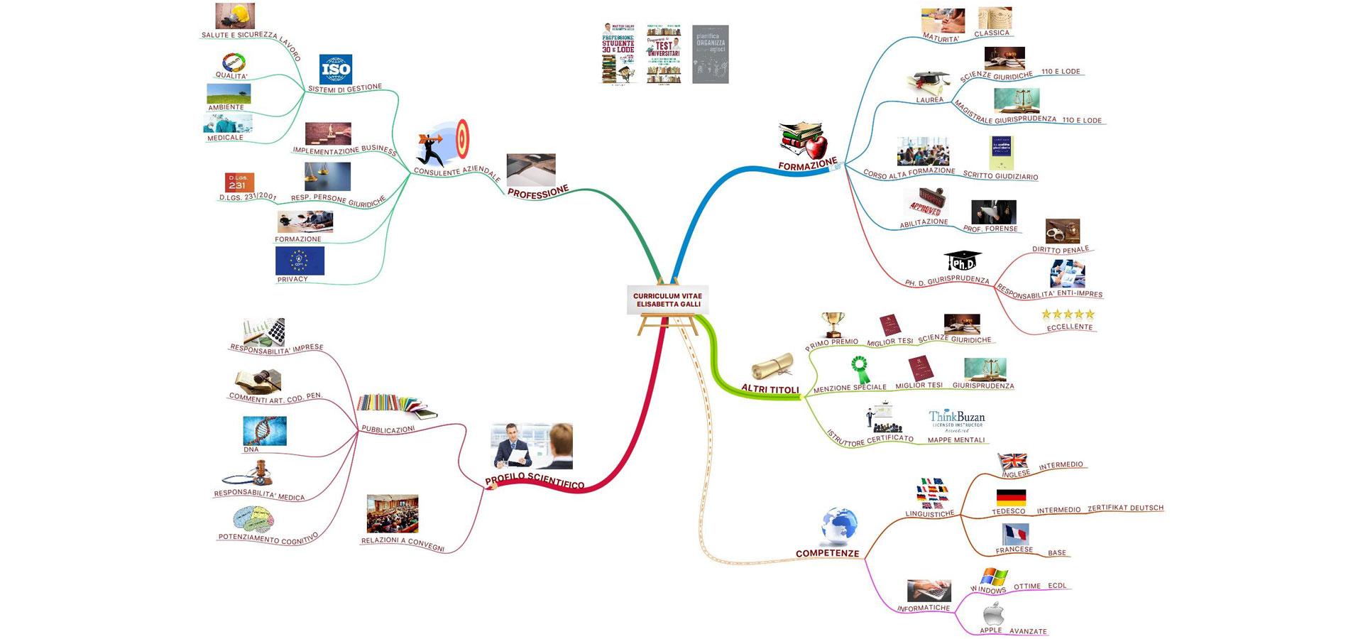 Mind Map Curriculum Vitae
